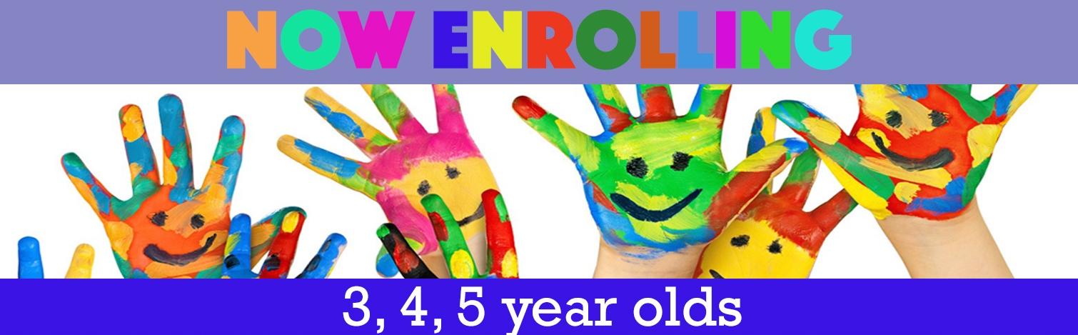 3k, 4 y 5 enrollment