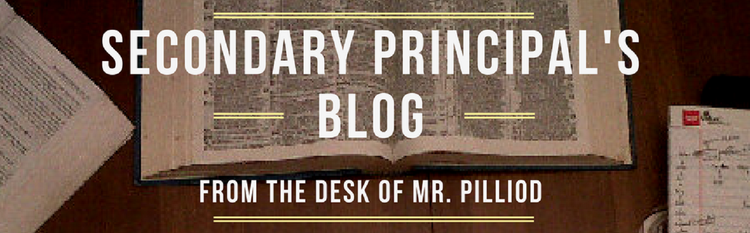 Secondary Principal's Blog