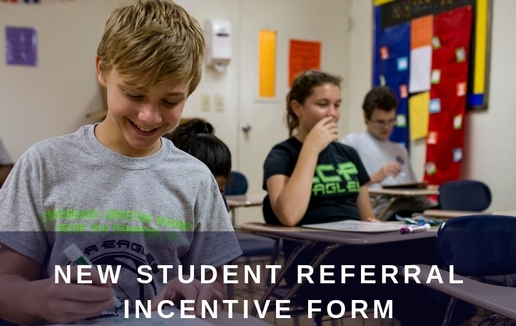 New Student Referral Incentive Form